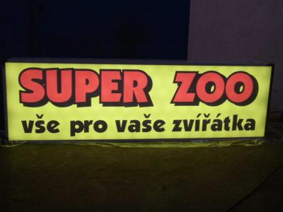 supe rzoo - světelný box